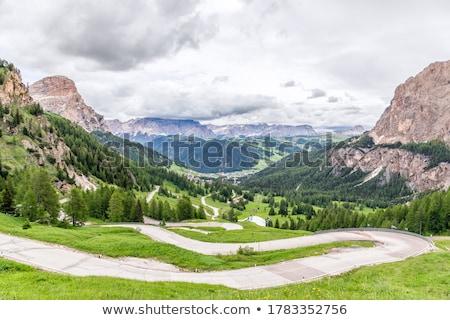 высокий долины лет горные зеленый Сток-фото © Antonio-S