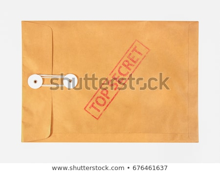 top secret envelope Stock photo © ssuaphoto