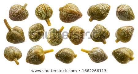 Capers isolated on white Stock photo © danny_smythe