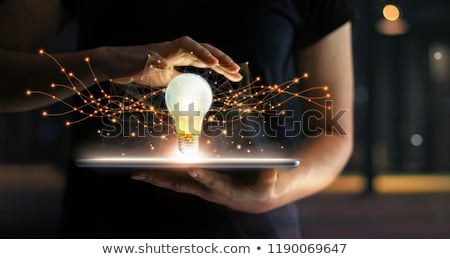 Communicatie oplossingen geest controle groep communiceren Stockfoto © Lightsource
