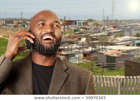 South African township businessman. Stock photo © danienel