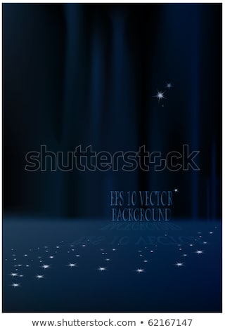 Stock photo: Aurora borealis background. EPS 10