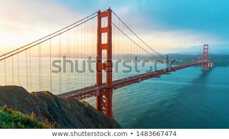 Golden Gate Bridge San Francisco Verenigde Staten detail hemel brug Stockfoto © nito