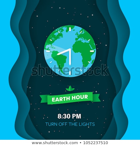 Out of Time - Earth Clock Stock photo © iqoncept