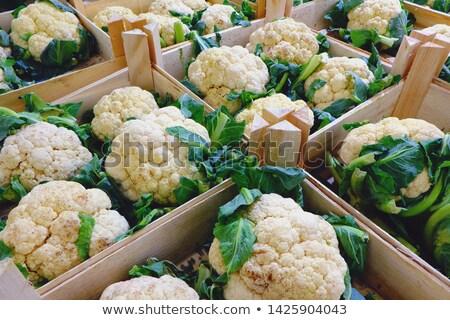 Vers verkoop euro voedsel groene plant Stockfoto © stockyimages
