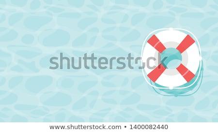vector lifebouy Stock photo © get4net