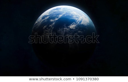 Stock fotó: Our Planet Earth