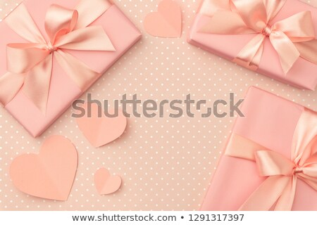 Girly boxes and bows Stock photo © vectorpro