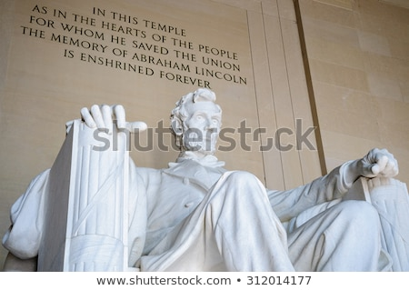 Stock photo: Lincoln Memorial Statue