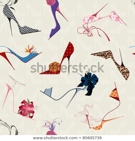 Fetiche zapato aislado blanco sexy Foto stock © Elisanth