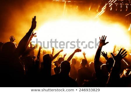 kentsel · disko · parti · hoparlörler · özel - stok fotoğraf © davidarts