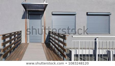 Metal niewidomych wysoki ciemne tapety Zdjęcia stock © pedrosala