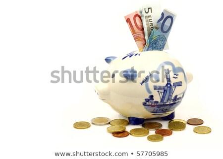 dutch piggy bank stock photo © ivonnewierink