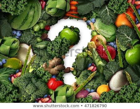 alimentare · domande · cosa · mangiare · ristoranti · parente - foto d'archivio © lightsource