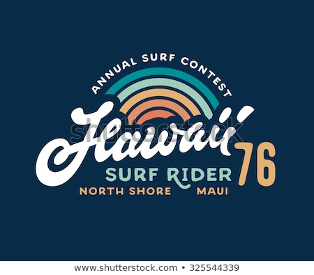 Stock photo: vintage surf composition