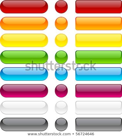 Rechthoekig bubble icon witte eenvoudige internet Stockfoto © tkacchuk