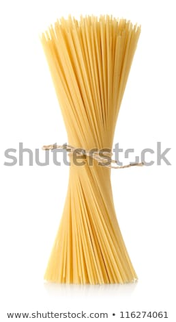 raw pasta tied with a rope stock photo © oleksandro