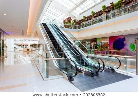 pláza · hosszú · expozíció · idő · üzlet · vásárlás · padló - stock fotó © wxin