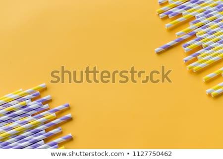 Potável padrão plástico Foto stock © ozgur
