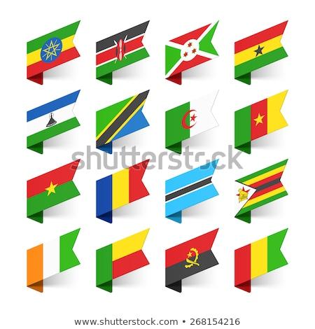 Burundi · pavilion · lume · steaguri · colectie · textură - imagine de stoc © dicogm