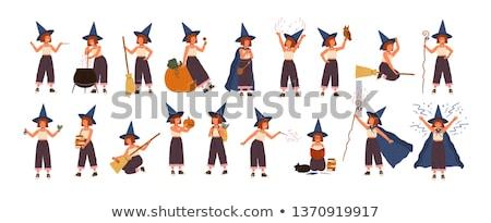 mooie · fairy · vector · grafische · vrouw - stockfoto © keofresh