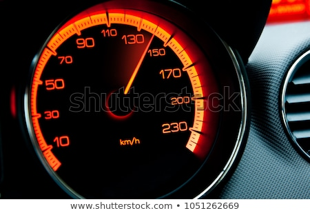 Stock fotó: Speedometer Of A Car