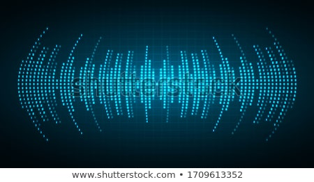 Absztrakt zene hangszínszabályozó fény terv technológia Stock fotó © netkov1