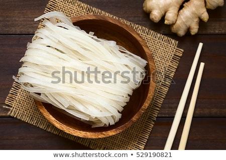 Rice noodles Stock photo © Nneirda