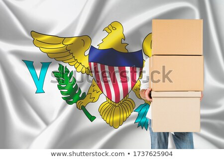 Turkey and Virgin Islands (U.S.) Flags Stock photo © Istanbul2009