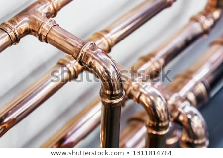 working tools plumbing pipes and faucets stock photo © klinker