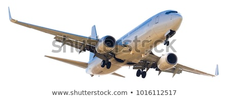 the fuselage of a commercial aircraft Stock photo © tracer