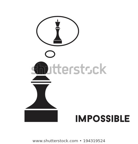 Lonely King (chess metaphor) Stock photo © grechka333