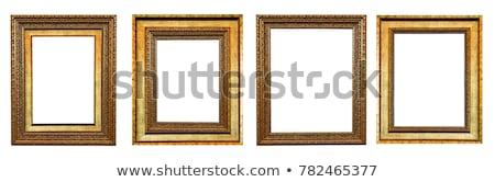 escuro · quadro · de · imagem · isolado · branco - foto stock © plasticrobot