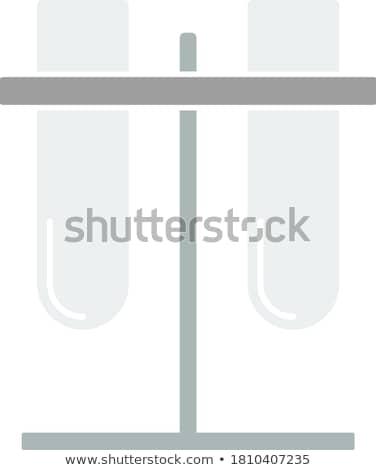 Lab allegata stand icona colore design Foto d'archivio © angelp