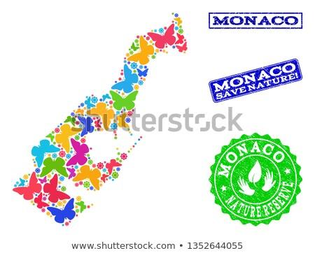 Monaco environnement carte herbe verte écologique nature Photo stock © speedfighter