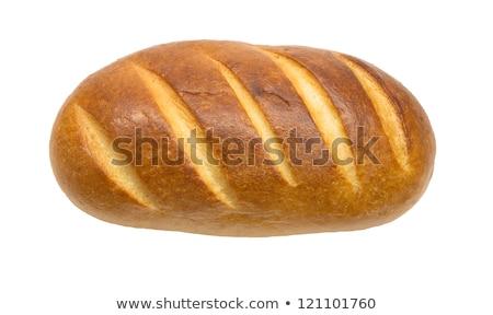 白パン · ケシ · まな板 · 背景 · 表 - ストックフォト © petrmalyshev
