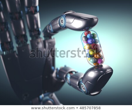 Multivitamin Pill Industry Stock photo © idesign