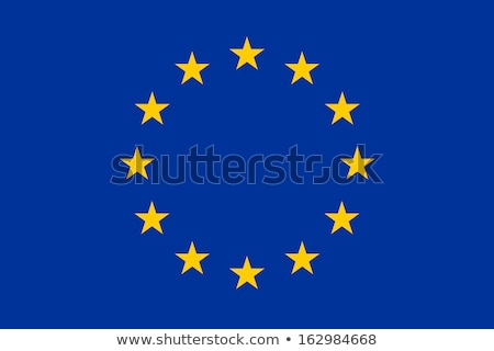 Original simple Europa bandera ue aislado Foto stock © JeksonGraphics