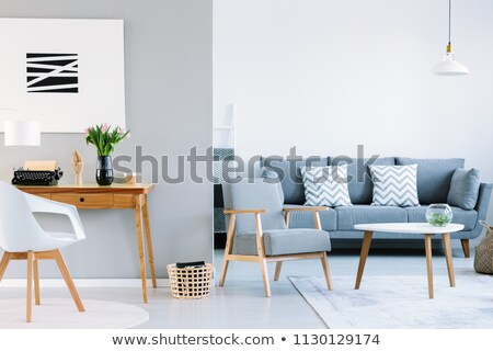 Study room with two armchairs stock photo © bluering