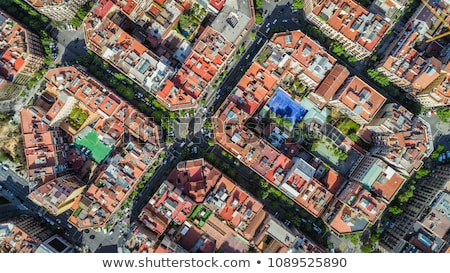 Barcelona ciudad soleado verano día Foto stock © Estea