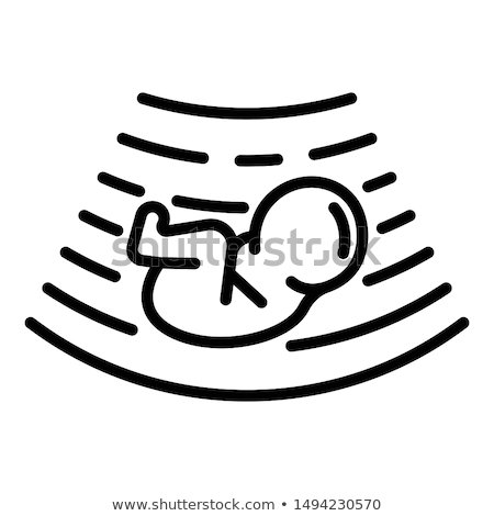 негативных · результат · иллюстрация · белый · беременна - Сток-фото © angelp