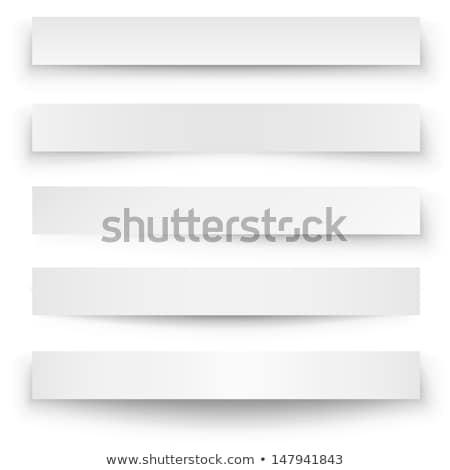 Curva papel oscuridad efecto colección arte Foto stock © SArts