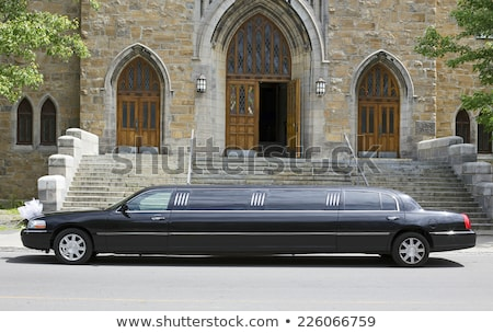 black limousine car Stock photo © Genestro