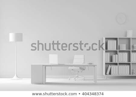 White Office Chair Stock photo © unkreatives