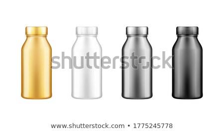 leite · fazenda · produtos · laticínio · aves · domésticas · manteiga - foto stock © marysan