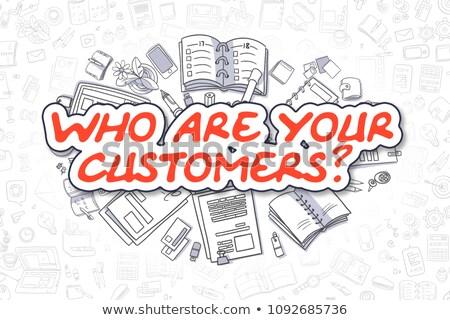 Advertising Services - Doodle Red Word. Business Concept. Stock photo © tashatuvango