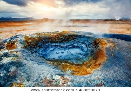 泥 · 火山 · 画像 · 自然 · 風景 - ストックフォト © leonidtit