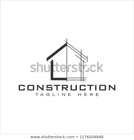 Property and Construction Logo design Stock photo © Ggs