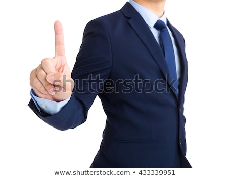 the index finger shows on sale stock photo © studiostoks