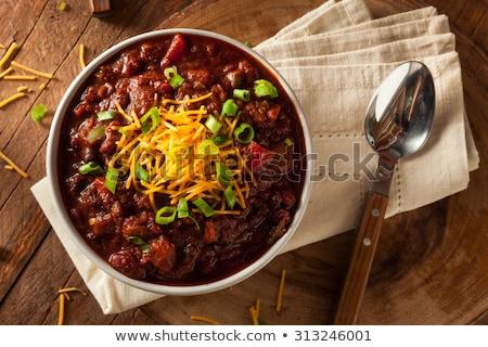 Bowl of Chili Stock photo © thisboy